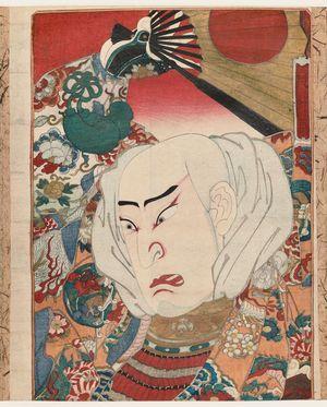 Gochôtei Sadamasu I: Actor as Kiyomori - Museum of Fine Arts