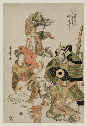 Kitagawa Utamaro: Katô Kiyomasa, from an untitled series of warriors - Museum of Fine Arts