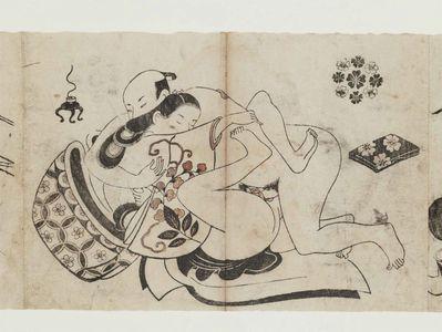 Torii Kiyonobu I: Erotic Prints - Museum of Fine Arts