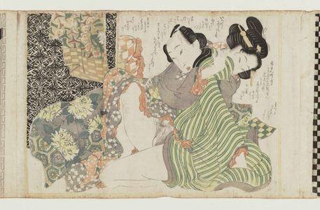 Kikugawa Eizan: Erotic scene - Museum of Fine Arts