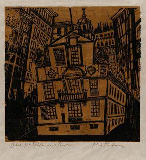 松原直子: Old State House of Boston - ボストン美術館