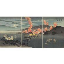 小林清親: Our Army Attacks the Chinese Camp at Pyongyang (Waga gun Heijô no seiei o osou) - ボストン美術館