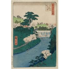 Utagawa Hiroshige: Dam on the Otonashi River at Ôji, Popularly Known as