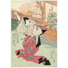 Shunbaisai Hokuei: Actor Nakamura Utaemon IV as Shibata Shûrinosuke - ボストン美術館