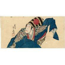 Shunkosai Hokushu: Actor Nakamura Tsurusuke I as Sanbasô - Museum of Fine Arts