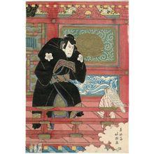Shunkosai Hokushu: Actor Nakamura Utaemon III (Shikan) as Ishikawa Goemon - Museum of Fine Arts