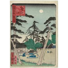 歌川芳滝: Hirota Shrine (Hirota yashiro), from the series One Hundred Views of Osaka (Naniwa hyakkei) - ボストン美術館