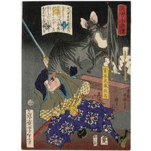 Tsukioka Yoshitoshi: Miyamoto Musashi, from the series Sagas of Beauty and Bravery (Biyû Suikoden) - Museum of Fine Arts
