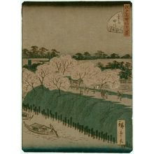 Utagawa Hiroshige II: No. 17, Sumida River (Sumidagawa), from the series Forty-Eight Famous Views of Edo (Edo meisho yonjûhakkei) - Museum of Fine Arts