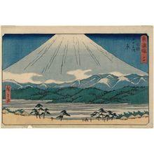 Utagawa Hiroshige: No. 14 - Hara, from the series The Tôkaidô Road - The Fifty-three Stations (Tôkaidô - Gojûsan tsugi), also known as the Reisho Tôkaidô - Museum of Fine Arts