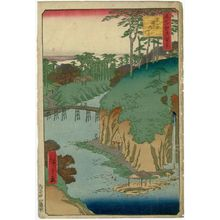 Utagawa Hiroshige: Takinogawa, Ôji (Ôji Takinogawa), from the series One Hundred Famous Views of Edo (Meisho Edo hyakkei) - Museum of Fine Arts