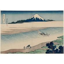 Katsushika Hokusai: The Jewel River in Musashi Province (Bushû Tamagawa), from the series Thirty-six Views of Mount Fuji (Fugaku sanjûrokkei) - Museum of Fine Arts