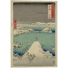 歌川広重: Iki Province: Shisa (Iki, Shisa), from the series Famous Places in the Sixty-odd Provinces [of Japan] ([Dai Nihon] Rokujûyoshû meisho zue) - ボストン美術館
