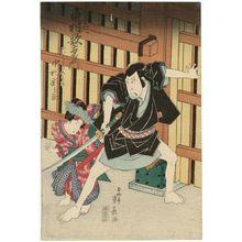 Ryûsai Shigeharu: Actors Nakamura Utaemon and Nakamura ...nosuke - ボストン美術館