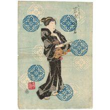 Ryûsai Shigeharu: Actor Iwai Shijaku I as Otatsu - Museum of Fine Arts
