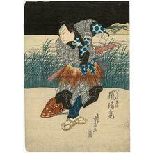Ryûsai Shigeharu: Actor Arashi Rikan as Akogi no Heiji - Museum of Fine Arts