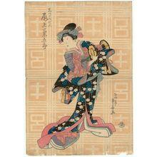 Ryûsai Shigeharu: Actor Onoe Kikugorô III as Shizuka Gozen - Museum of Fine Arts