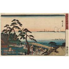 Utagawa Hiroshige: The Precincts of the Benten Shrine at Susaki (Susaki Benten keidai), from the series Famous Places in Edo (Kôto meisho) - Museum of Fine Arts