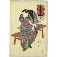 Toyokawa Yoshikuni: Actor Nakamura Shikan as Nuregami Chôgorô - Museum of Fine Arts