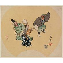 Utagawa Hiroshige: The Kyôgen Play