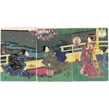 歌川国芳: The Seventh Month (Fumizuki) - ボストン美術館