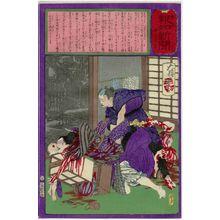 Tsukioka Yoshitoshi: No. 649, from the series The Post Dispatch Newspaper (Yûbin hôchi shinbun) - Museum of Fine Arts