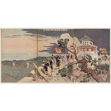 Taguchi Beisaku: The Second Army's Occupation of Jinzhoucheng (Dainigun Kinshûjô senryô no zu) - ボストン美術館