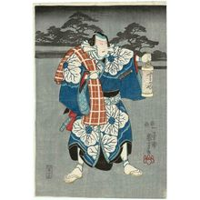 歌川国芳: Actor as Banzui Chôbei - ボストン美術館