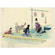 Harada Keigaku: Cooling Off at Shijô - Museum of Fine Arts