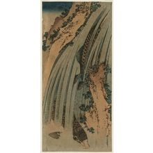 Katsushika Hokusai: Two Carp in Waterfall - Museum of Fine Arts
