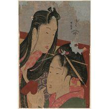 Katsushika Hokusai: Ground Cherry, from the series Seven Useless Habits (Fûryû nakute nana kuse) - Museum of Fine Arts