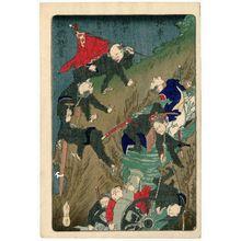 河鍋暁斎: from the series One Hundred Pictures by Kyôsai (Kyôsai hyakuzu) - ボストン美術館