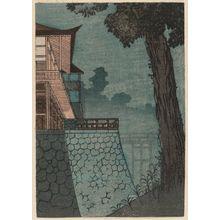 Utagawa Hiroshige: Corner of a Building at Night - Museum of Fine Arts