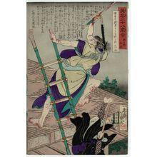 Ochiai Yoshiiku: from the series Heroes for the Twenty-eight Lunar Lodges, with Poems (Eimei nijûhasshuku) - Museum of Fine Arts