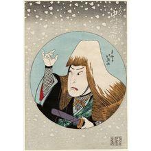 Shunbaisai Hokuei: Actor Nakamura Shikan II as Miyamoto Musashi - Museum of Fine Arts
