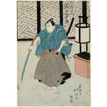 Shunbaisai Hokuei: Actor Seki Sanjûrô as Mizunoo Shirozaemon - Museum of Fine Arts