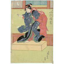 Ryûsai Shigeharu: Actor Arashi Rikan as the Maiden Osome - ボストン美術館