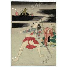 Shunbaisai Hokuei: Actor Arashi Rikan II as Danshichi Kurobei - ボストン美術館