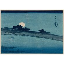 Utagawa Hiroshige: Mimeguri, from the series Cutout Pictures of Famous Places in Edo (Edo meisho harimaze zue) - Museum of Fine Arts