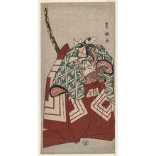 Utagawa Toyokuni I: Actor Ichikawa Danjûrô V as Shibuya no Konno Masatoshi in Shibaraku - Museum of Fine Arts