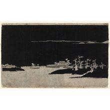 伊藤若冲: Segment of the Yodo River scroll - ボストン美術館