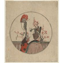 Katsushika Hokusai: Courtesan, Guest, and Pet Monkey - Museum of Fine Arts