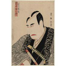 Utagawa Toyokuni I: Actor Ogino Isaburô II as Shintônai Kuranosuke - Museum of Fine Arts
