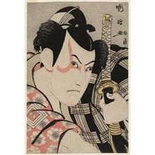 歌川国政: Actor Ichikawa Yaozô III as Umeômaru - ボストン美術館