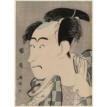Utagawa Kunimasa: Actor Ichikawa Danjûrô VI as Shinsuke (?) - Museum of Fine Arts