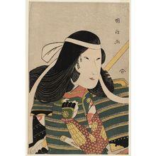 Utagawa Kunimasa: Actor Iwai Kumesaburô as Tomoe Gozen - Museum of Fine Arts