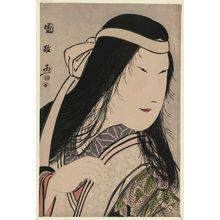 歌川国政: Actor Nakamura Noshio II as Yamauba - ボストン美術館
