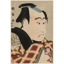 Utagawa Kunimasa: Actor Ichikawa Danjûrô VI - Museum of Fine Arts