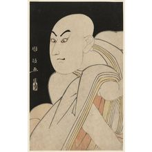 Utagawa Kunimasa: Actor Sawamura Sôjûrô III as the Lay Priest Kiyomori - Museum of Fine Arts