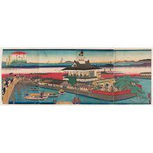 歌川芳滝: New Views of Osaka: Matsushima (Naniwa shinkei Matsushima ...rô no zu) - ボストン美術館